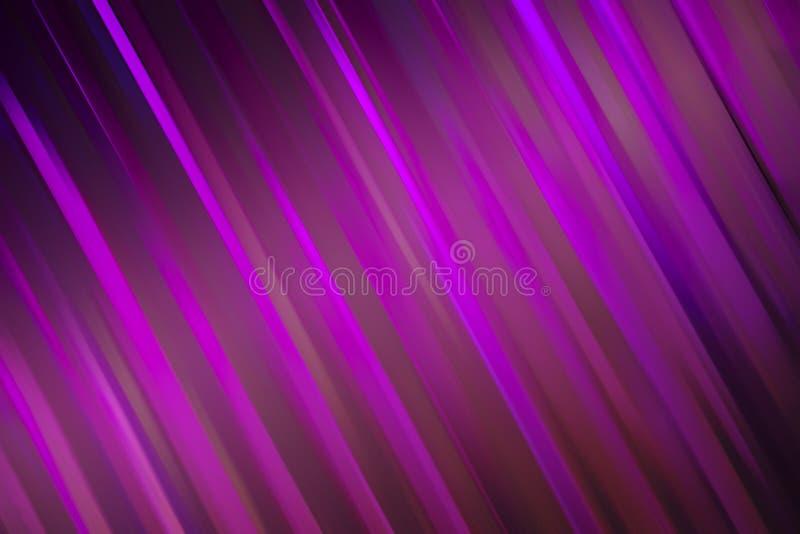 Abstracte achtergrond in violette golflijn royalty-vrije stock afbeelding