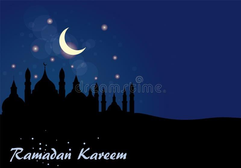 Abstracte achtergrond voor Ramadan Kareem, vector illustratie