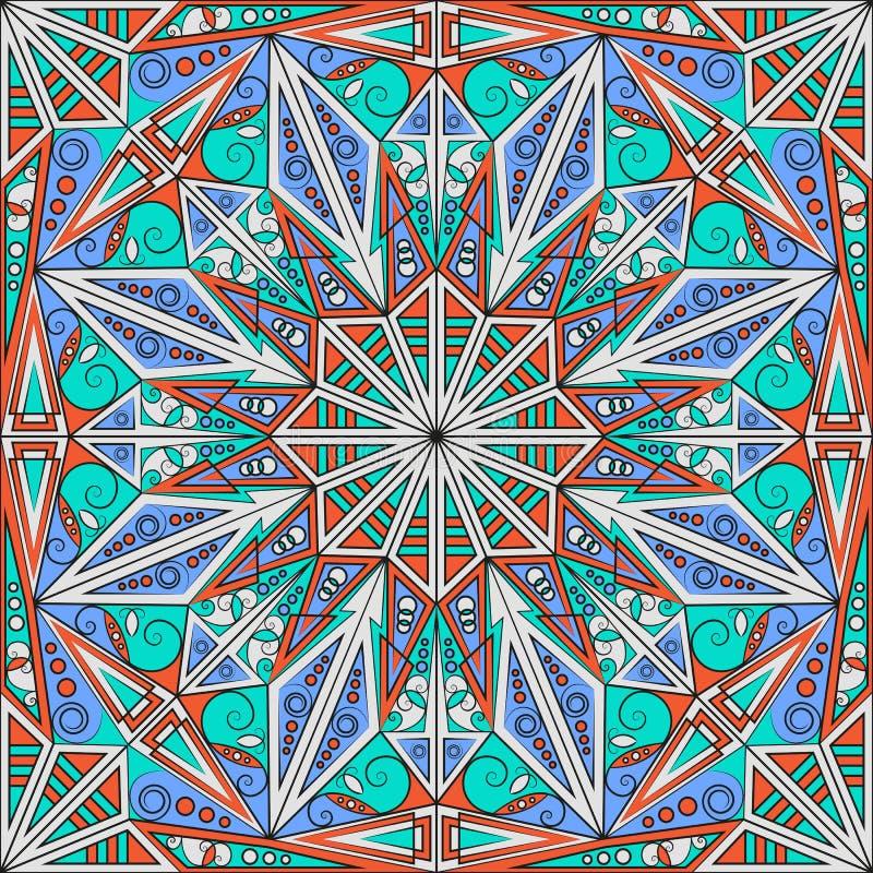 Abstracte Achtergrond of Wallpap royalty-vrije illustratie