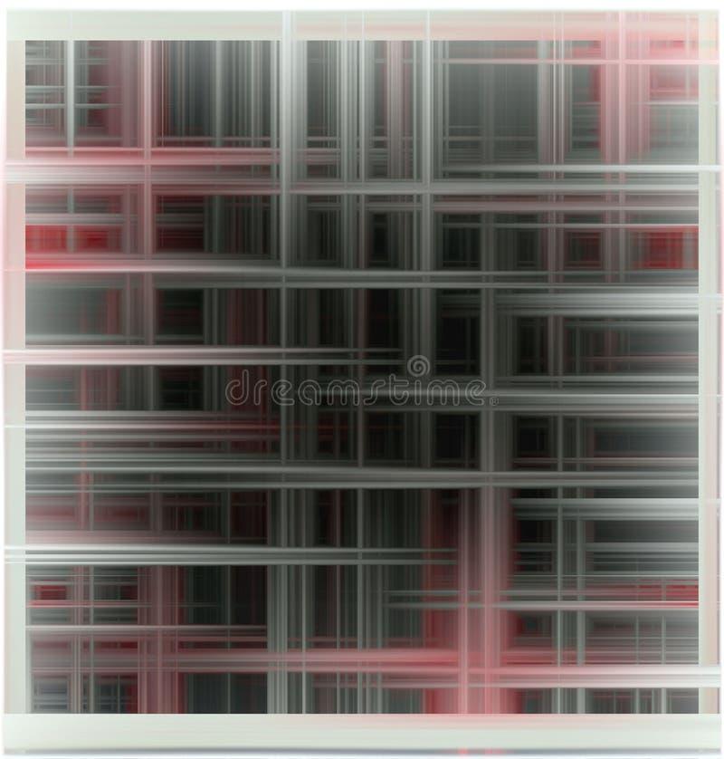 Abstracte achtergrond in zwarte tinten stock illustratie