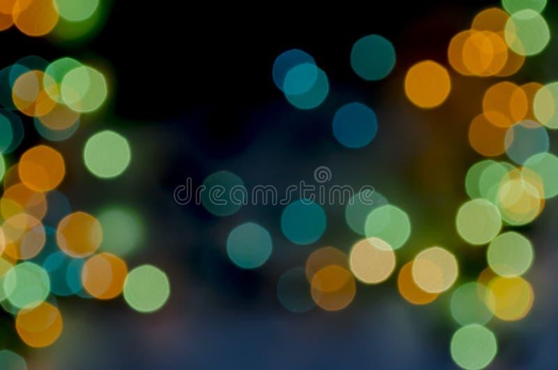 Abstracte achtergronden bij het groene en blauwe onduidelijke beeld royalty-vrije illustratie