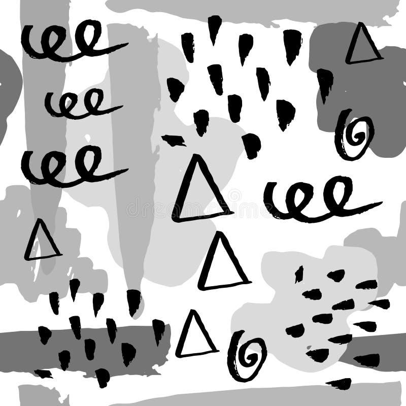 Abstracte achtergrondpatroonvector stock illustratie