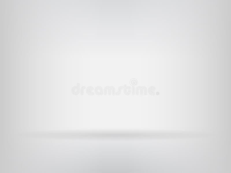 Abstracte achtergrondstudioruimte en wall_gray achtergrond stock illustratie