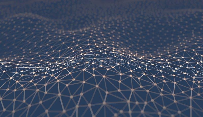 Abstracte Achtergrondwetenschapstechnologie royalty-vrije stock afbeelding
