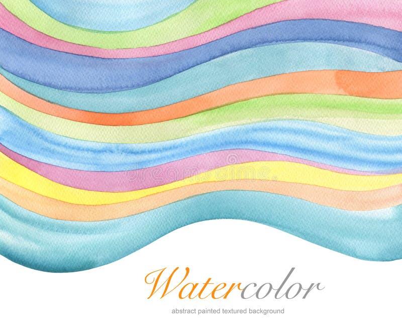 Abstracte acryl en waterverf geschilderde achtergrond royalty-vrije stock afbeelding