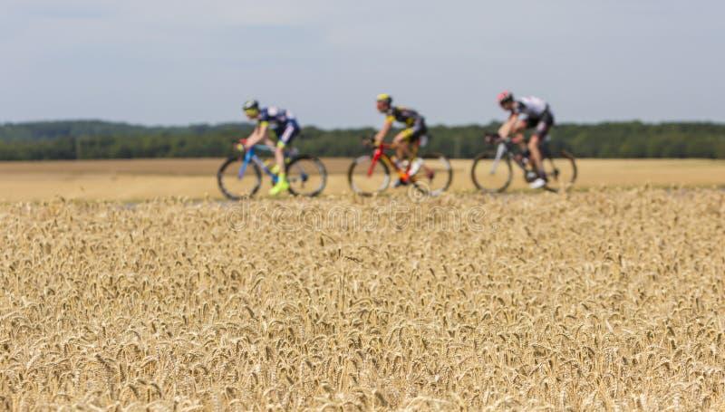 Abstracte Afgescheiden - Ronde van Frankrijk 2017 stock afbeelding