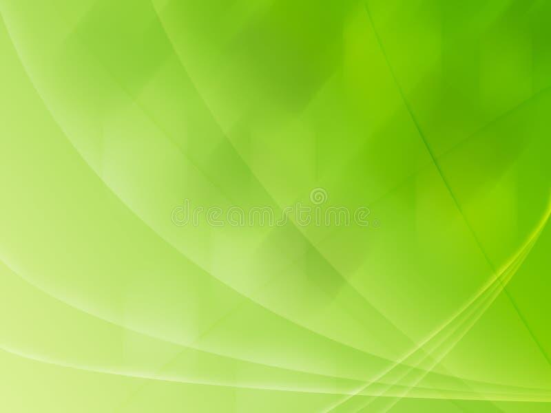 Abstracte appelgroene lijnen als achtergrond vector illustratie