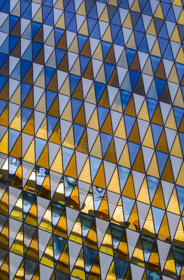 Abstracte architecturale achtergrond royalty-vrije stock afbeelding