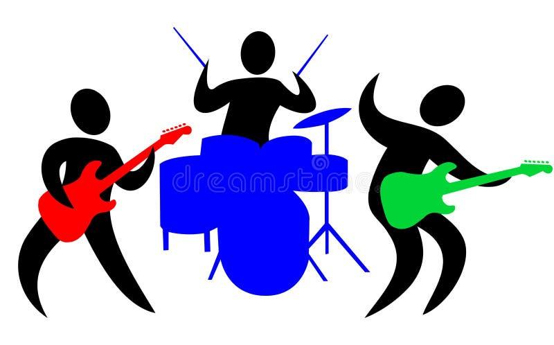 Abstracte Band royalty-vrije illustratie