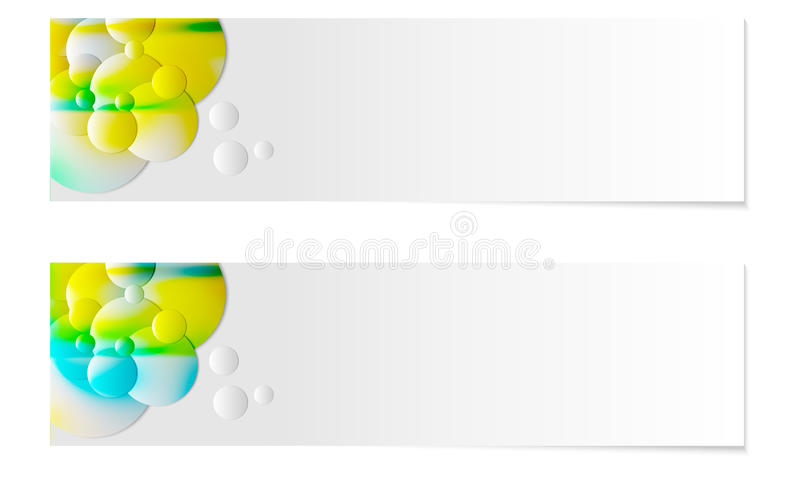 Abstracte banner vector illustratie