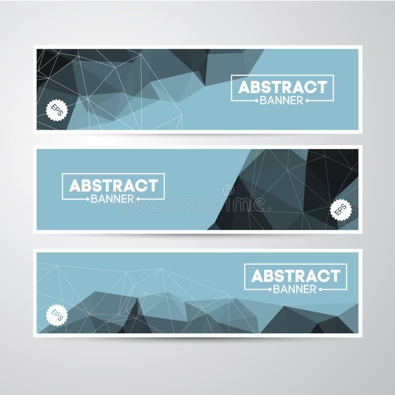 Abstracte Banner royalty-vrije illustratie