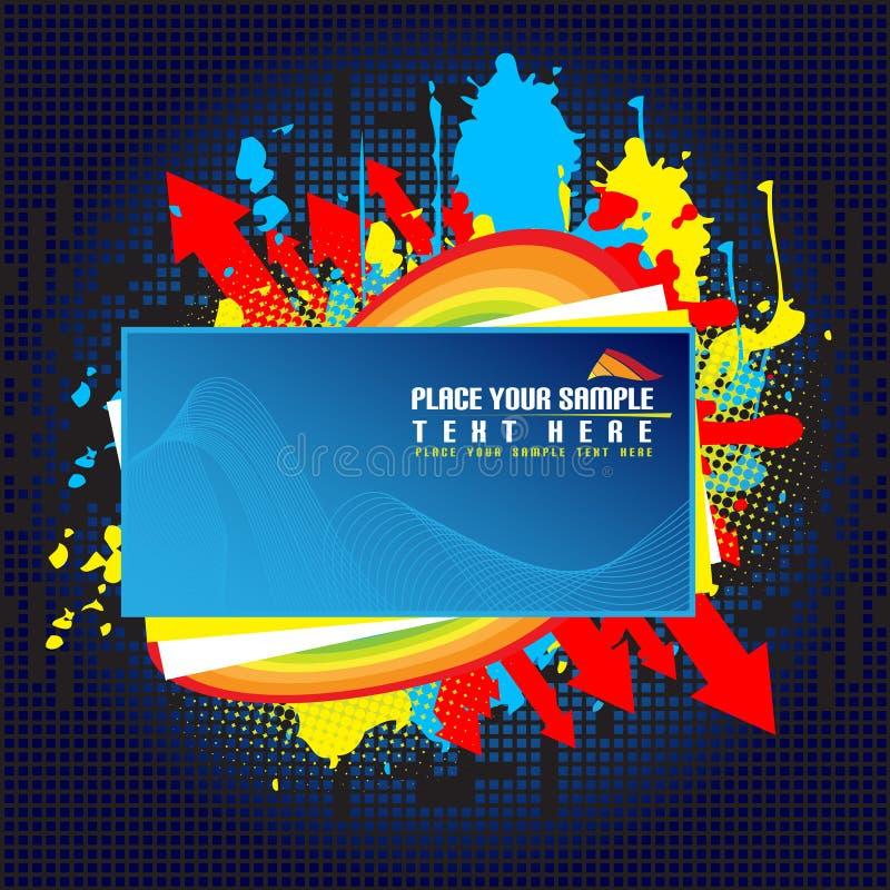 Abstracte banner vector illustratie