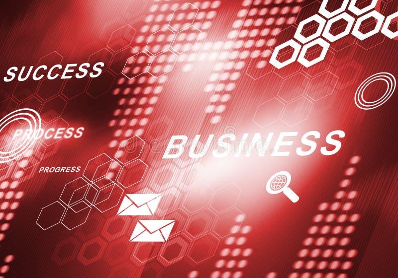 Abstracte bedrijfs digitale achtergrond vector illustratie