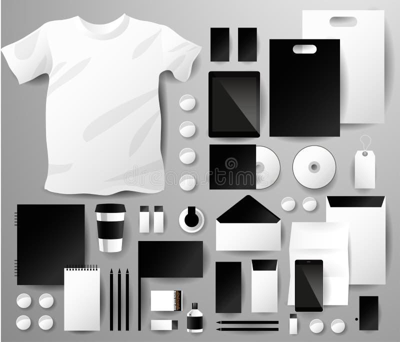 Abstracte bedrijfsreeks Collectieve Identity vector illustratie