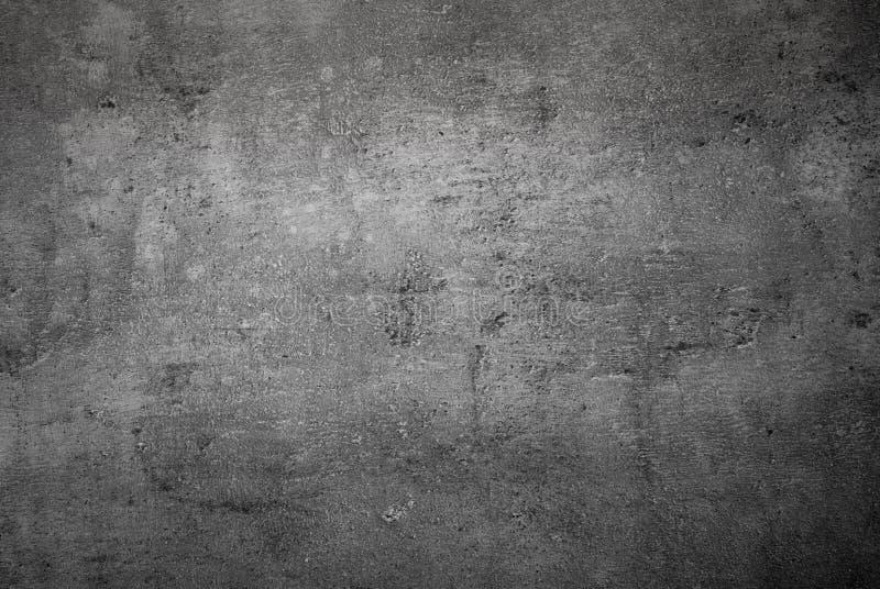 Abstracte beton zwart-wit achtergrond stock afbeeldingen