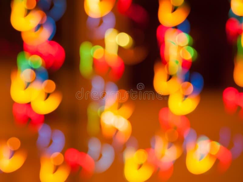 Abstracte bewegende lichten royalty-vrije stock fotografie