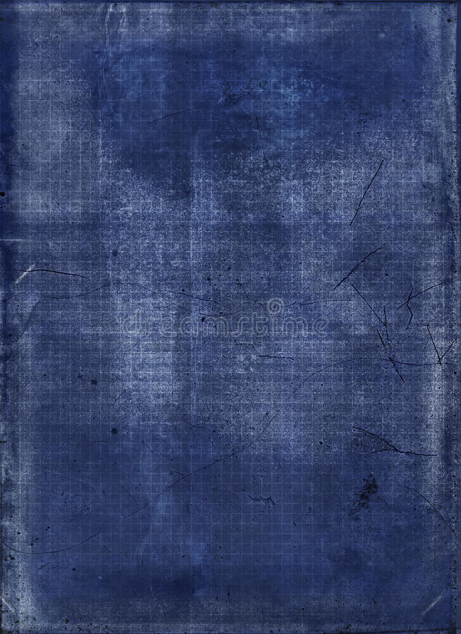 Abstracte blauwdruk stock foto