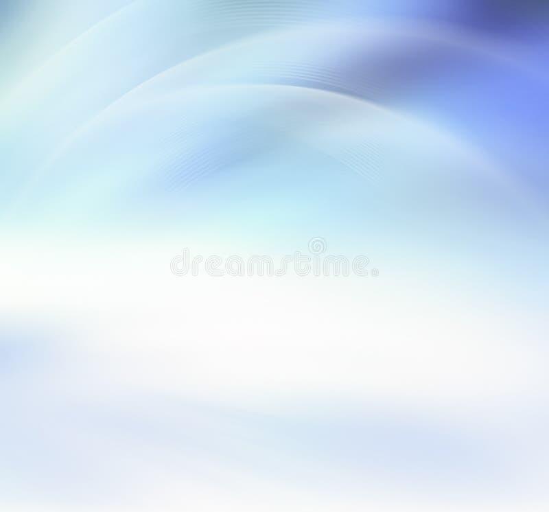 Abstracte Blauwe Achtergrond vector illustratie