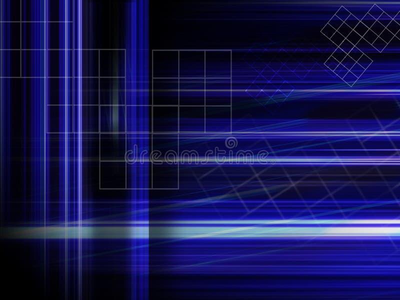 Download Abstracte Blauwe Achtergrond Stock Illustratie - Illustratie bestaande uit doel, hoofdband: 293834