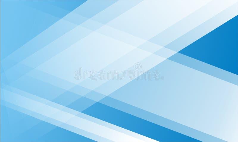 Abstracte Blauwe Achtergrond met het witte licht dit van eps 10 formaat royalty-vrije stock afbeeldingen