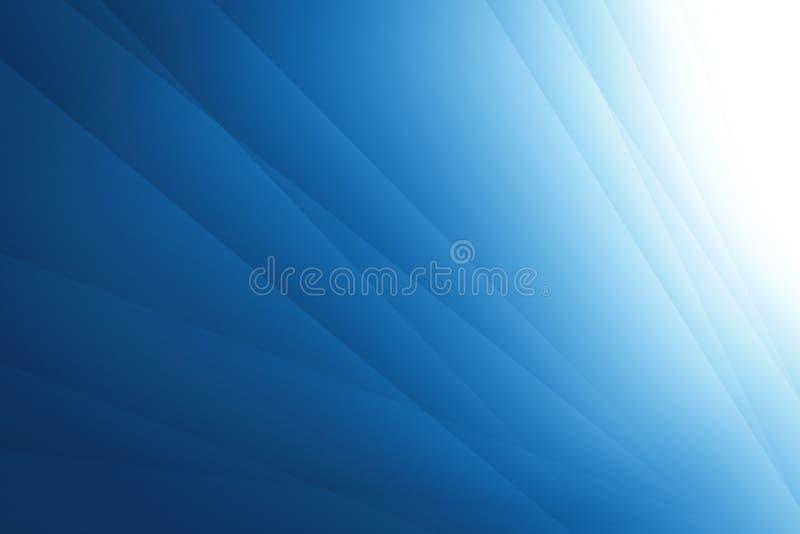 Abstracte blauwe achtergrond met lijnen het ontwerp van de illustratietechnologie vector illustratie
