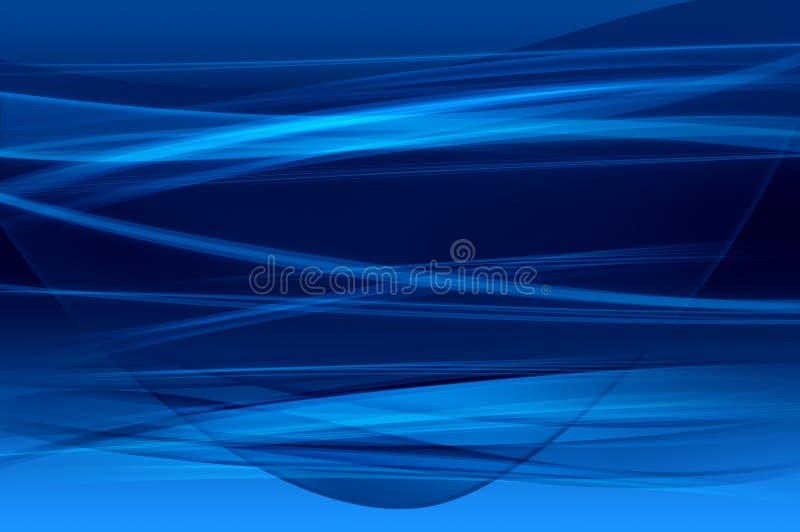 Abstracte blauwe achtergrond, netwerktextuur vector illustratie