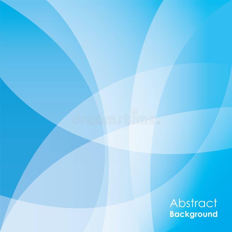 Abstracte blauwe achtergrond, vector royalty-vrije illustratie