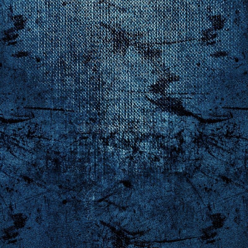 Abstracte blauwe achtergronddocument textuur royalty-vrije stock afbeelding