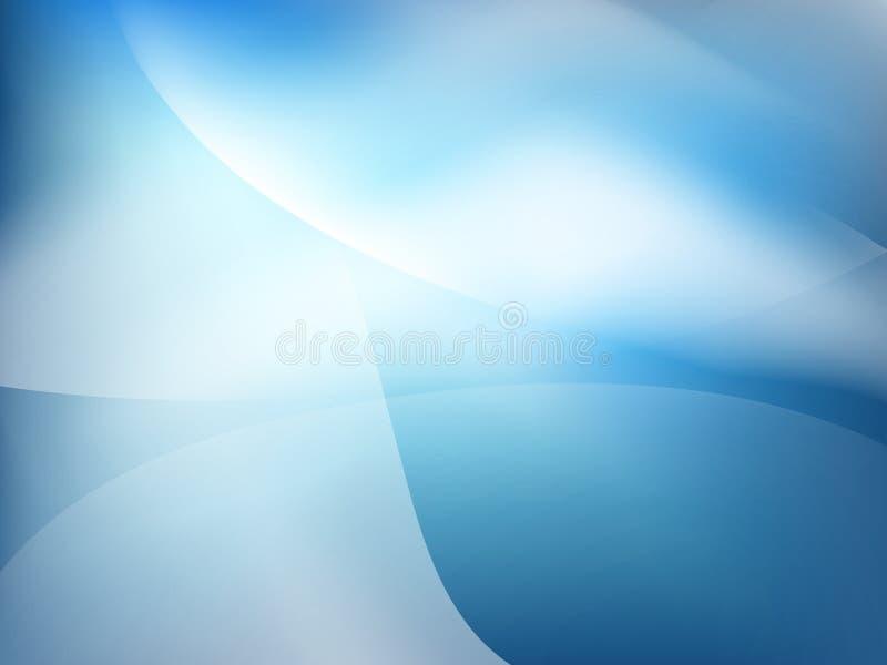 Abstracte blauwe bedrijfs kleurrijke technologie stock illustratie