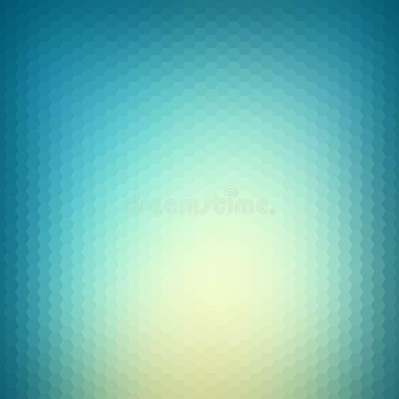 Abstracte blauwe en witte veelhoekachtergrond Vector illustratie Eps 10 vector illustratie