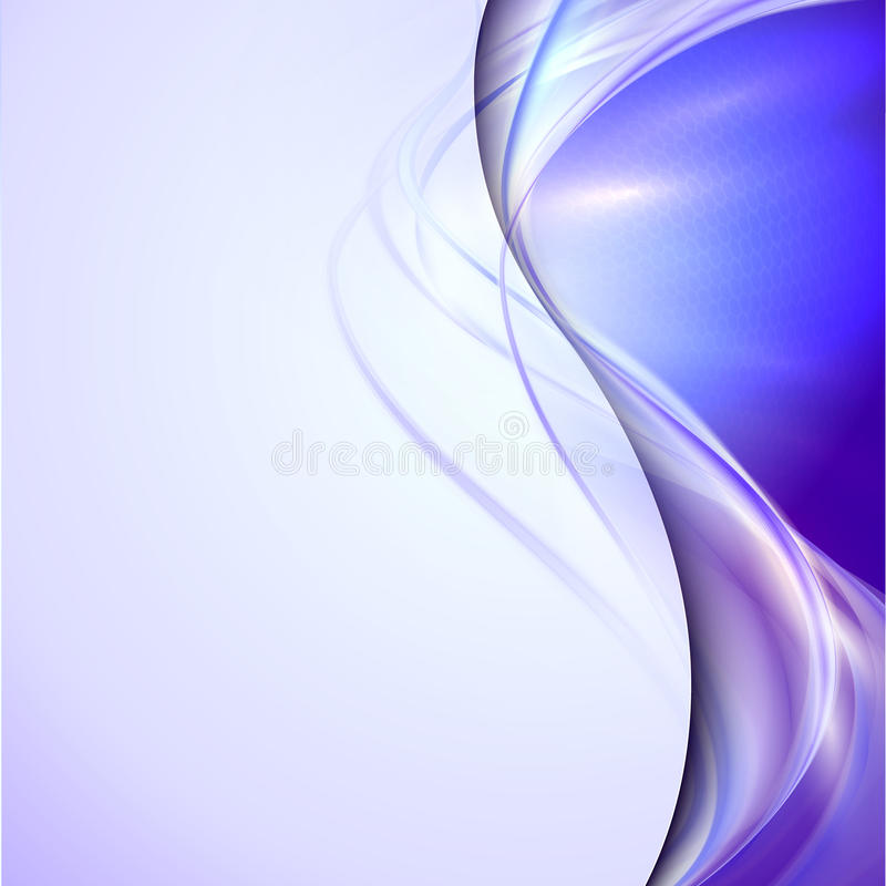 Download Abstracte Blauwe Golvende Achtergrond Vector Illustratie - Illustratie bestaande uit purper, flowing: 39118476