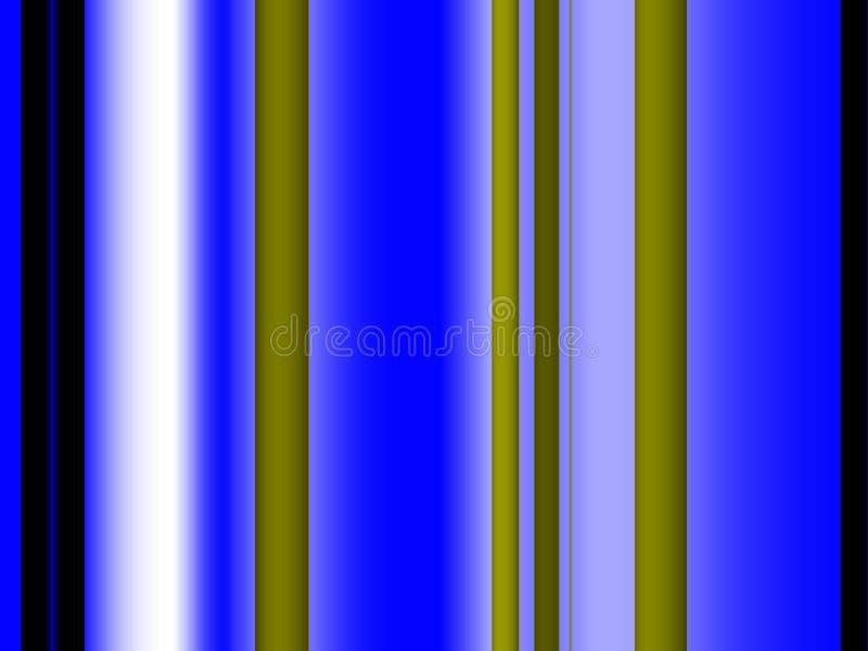 Abstracte blauwe gouden lijnen fonkelende achtergrond, grafiek, abstracte achtergrond en textuur vector illustratie