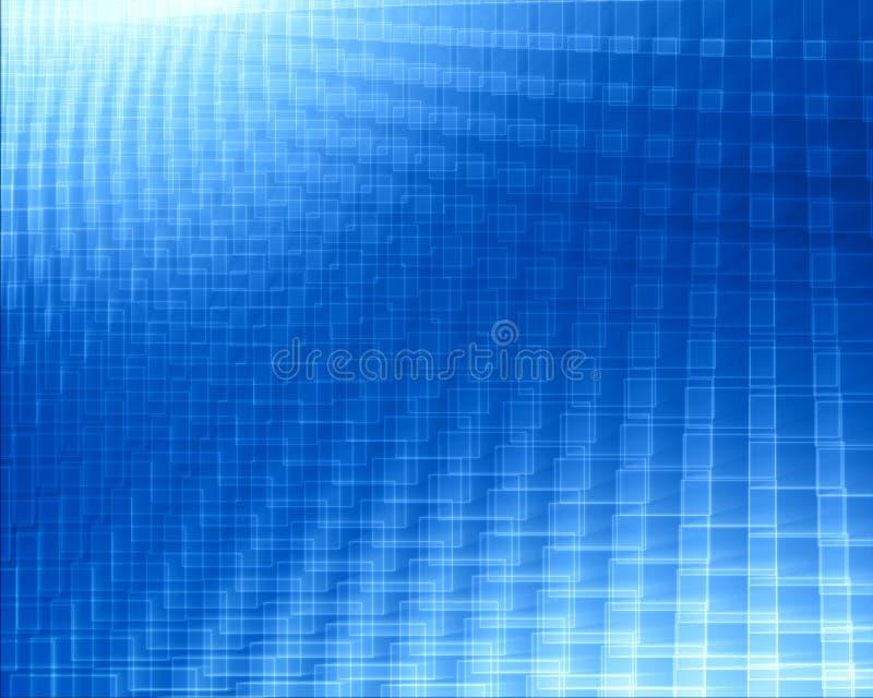 Abstracte blauwe gradiënt stock illustratie