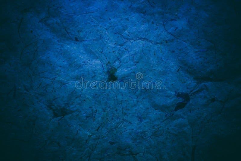 Abstracte blauwe textuur en achtergrond voor ontwerpers Uitstekende document achtergrond royalty-vrije stock fotografie