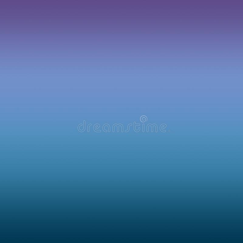 Abstracte Blauwe Ultraviolet blurred gradient minimal background royalty-vrije illustratie
