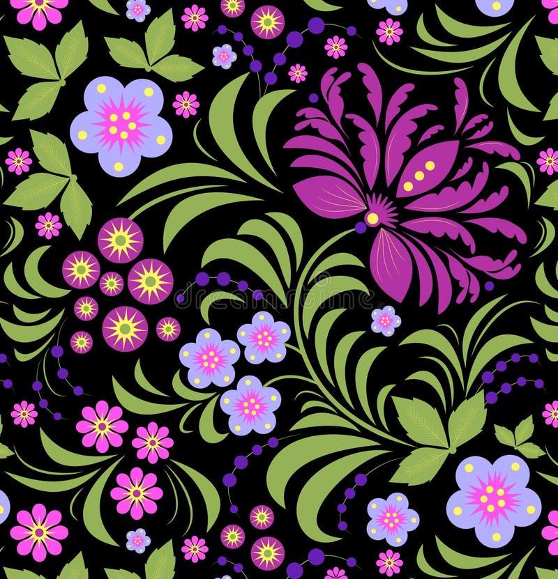 Abstracte bloem vector illustratie