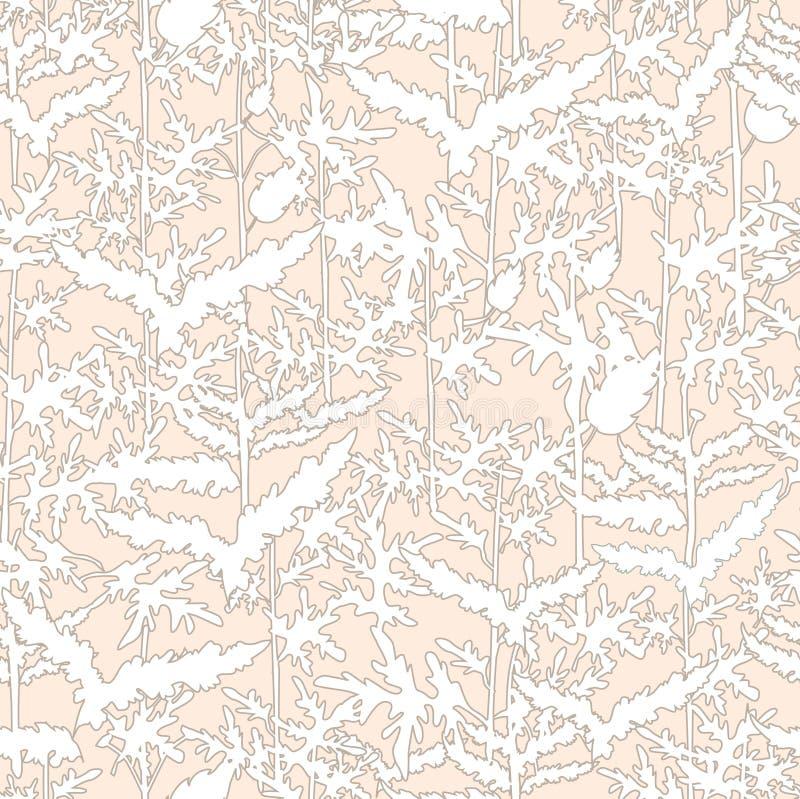 Download Abstracte Bloemen Naadloze Textuur Vector Illustratie - Illustratie bestaande uit struik, decoratie: 29506196