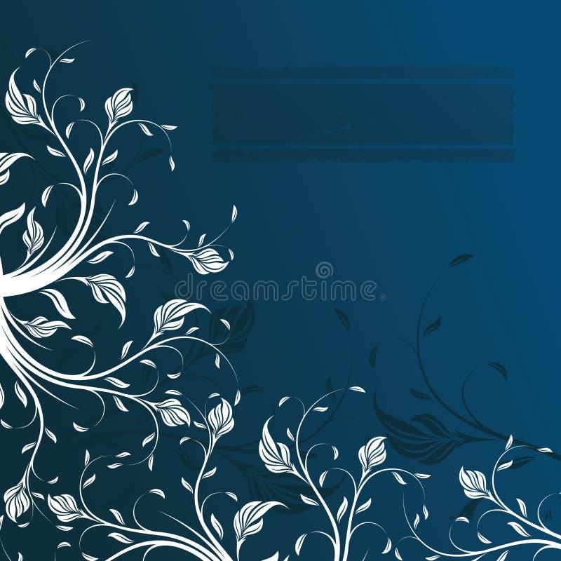 Abstracte bloemenachtergrond, element voor ontwerp royalty-vrije illustratie