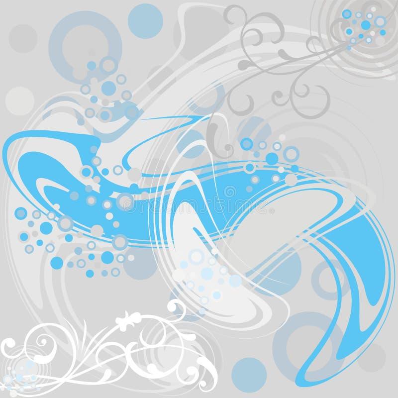 Abstracte bloemenachtergrond, vector vector illustratie
