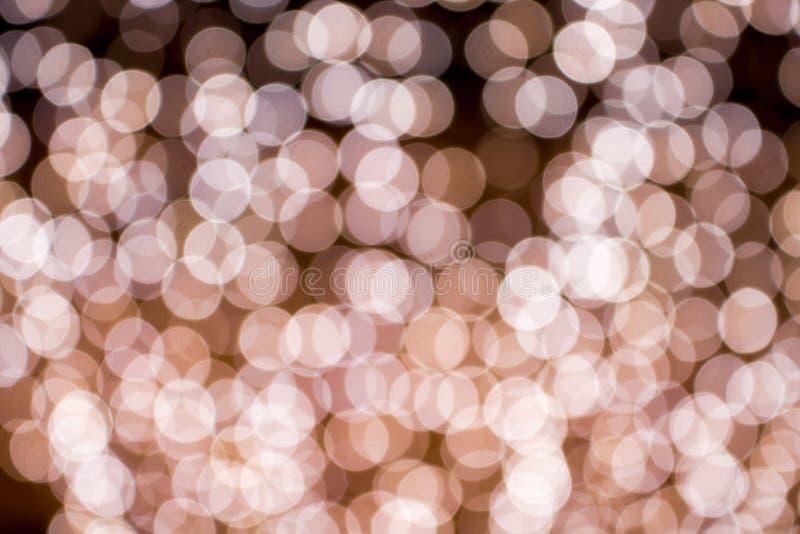 Abstracte bokehachtergrond van licht royalty-vrije stock afbeelding