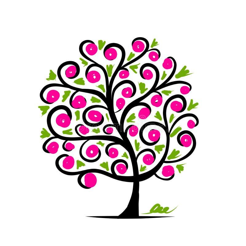 Abstracte boom voor uw ontwerp stock afbeelding afbeelding 30352071 - Boom ontwerp ...