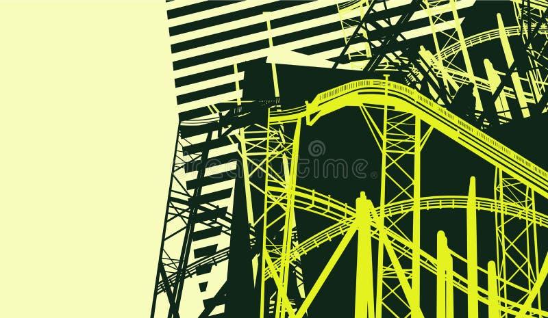 Abstracte bouw stock illustratie