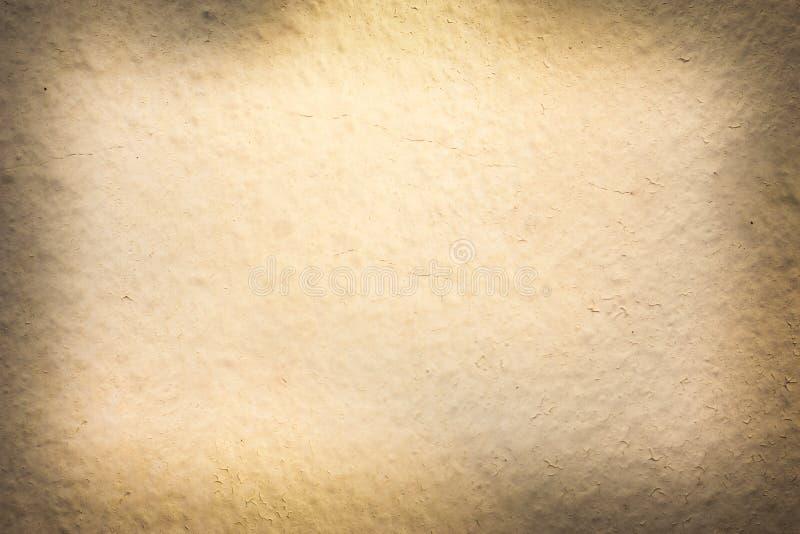 Abstracte bruine achtergrond van elegante donkere uitstekende grungetextuur stock illustratie