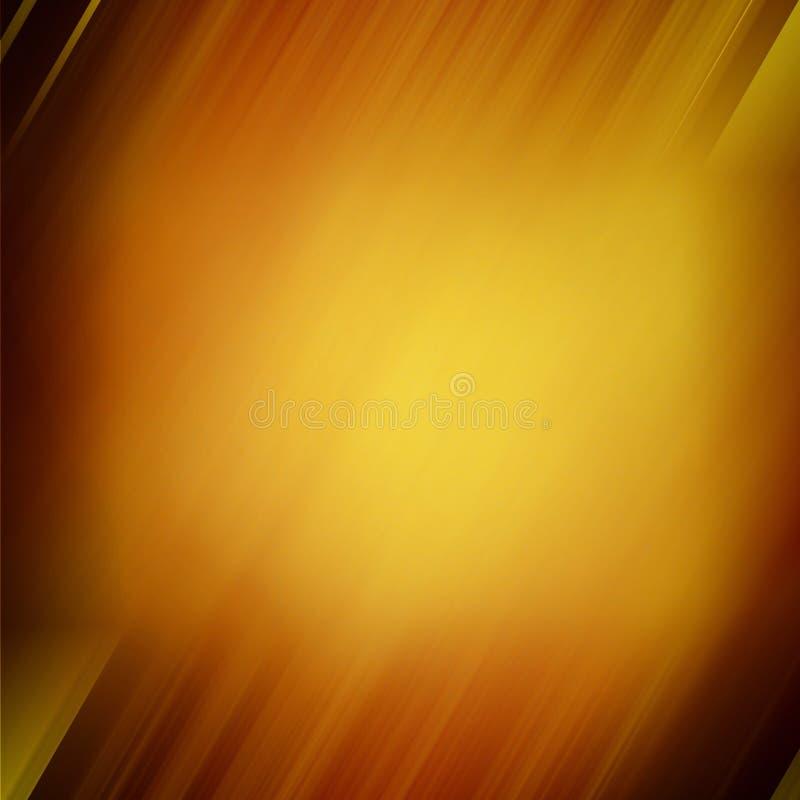 Abstracte bruine onscherpe achtergrond royalty-vrije illustratie