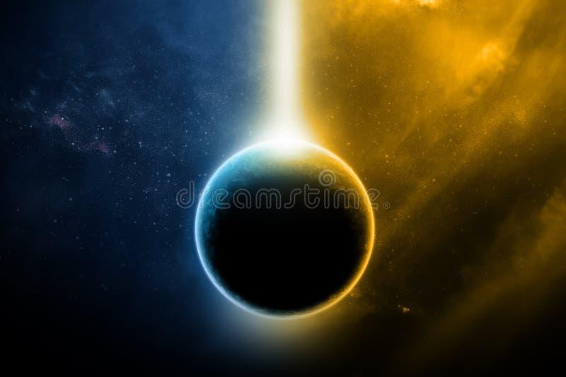 Abstracte buitenaarde royalty-vrije stock foto