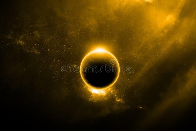 Abstracte buitenaarde stock illustratie