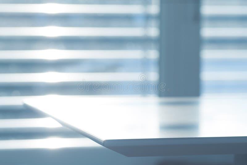 Abstracte bureauscène stock foto