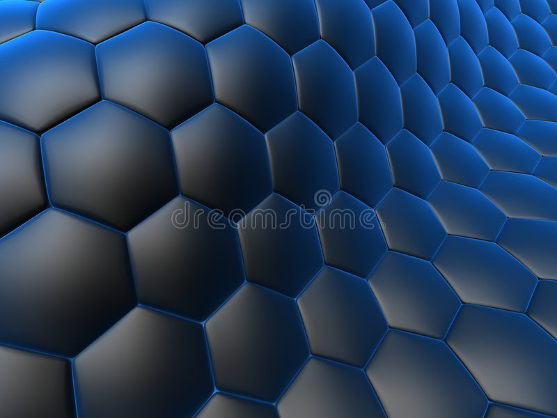 Abstracte cellen royalty-vrije illustratie