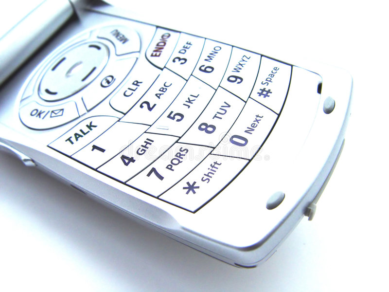 Abstracte Cellulaire Telefoon royalty-vrije stock afbeelding