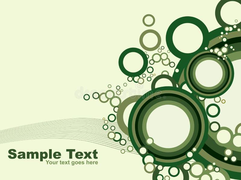 Abstracte cirkel background.vector royalty-vrije illustratie